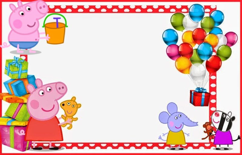 Peppa Pig Invitation Template Free Elegant Peppa Pig Invitations Make People Smile