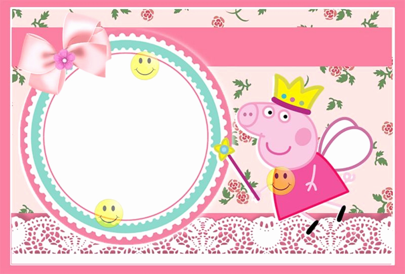 Peppa Pig Invitation Template Free Luxury Peppa Pig Invitations Make People Smile