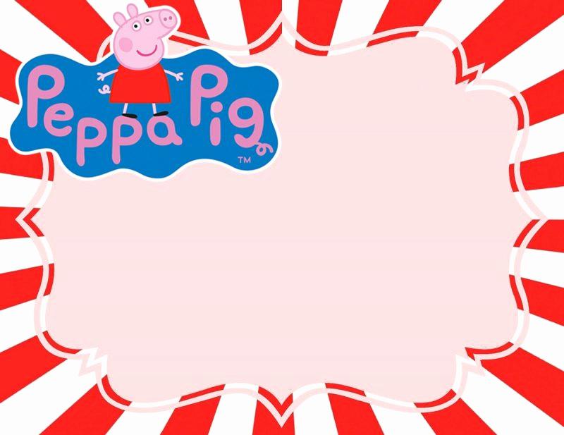 Peppa Pig Invitation Template Free New Incredible Peppa Pig Invitation Templates Free and