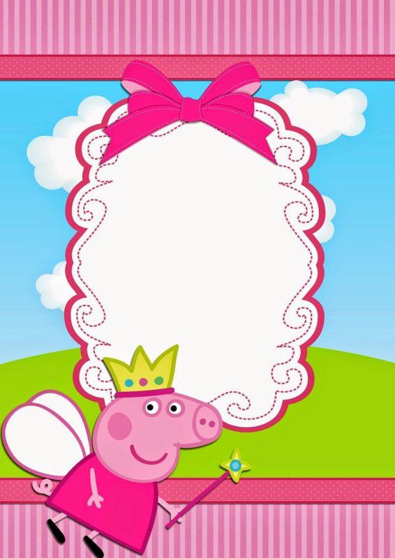 Peppa Pig Invitation Template Inspirational Peppa Pig Invitations Make People Smile