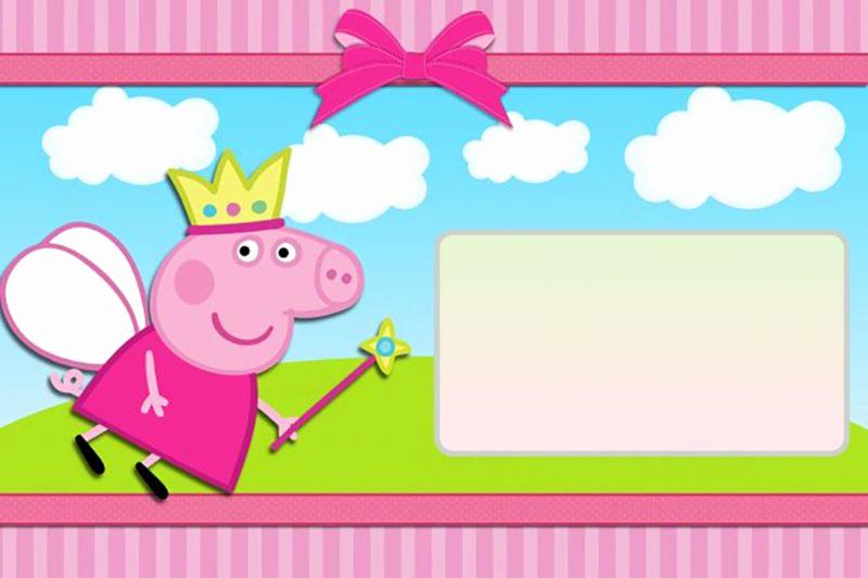 Peppa Pig Invitation Template Lovely Peppa Pig Invitations Make People Smile