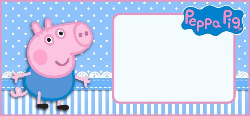Peppa Pig Invitation Template Unique Incredible Peppa Pig Invitation Templates Free and