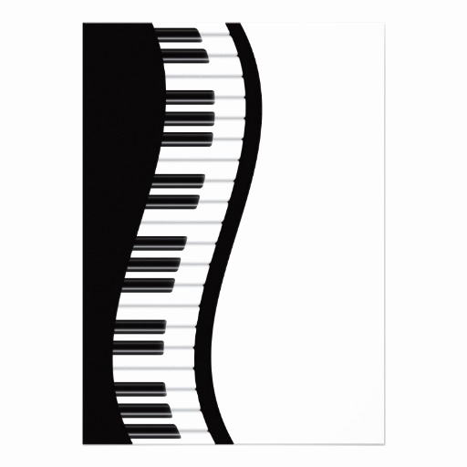 Piano Recital Invitation Template Free Best Of Personalized Recital Invitations