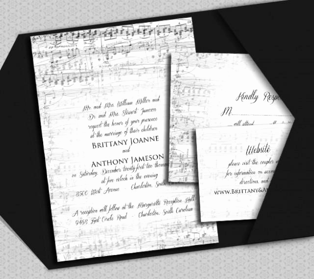 Piano Recital Invitation Template Free Unique Music Invitation Template Diy Vintage Music Piano