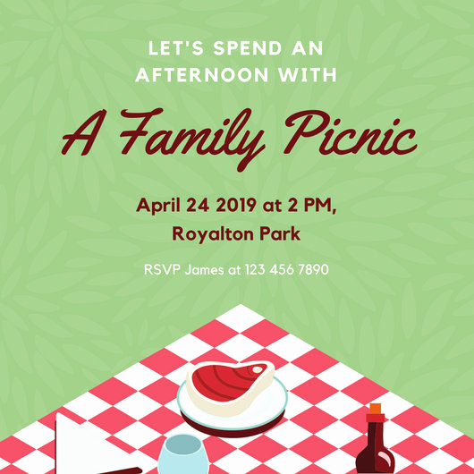 Picnic Invitation Templates Free Awesome Customize 108 Picnic Invitation Templates Online Canva