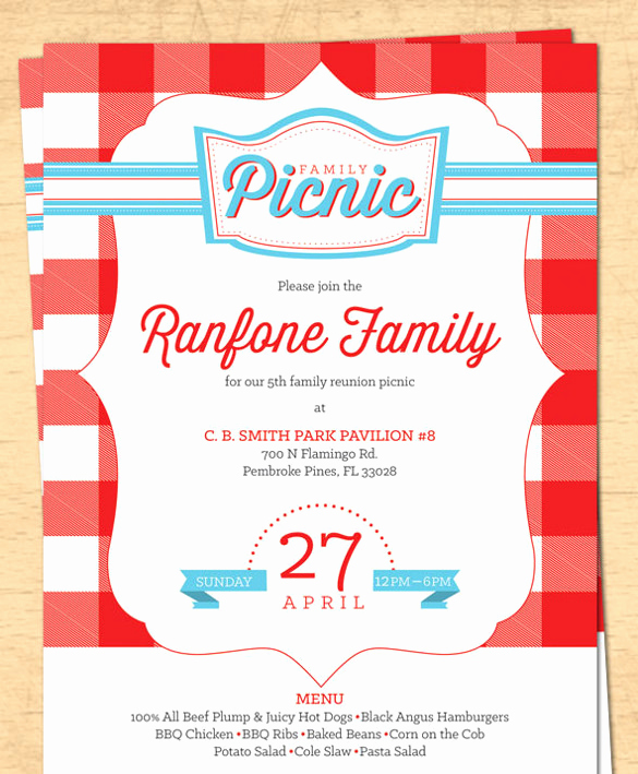 Picnic Invitation Templates Free Luxury 26 Picnic Invitation Templates Psd Word Ai