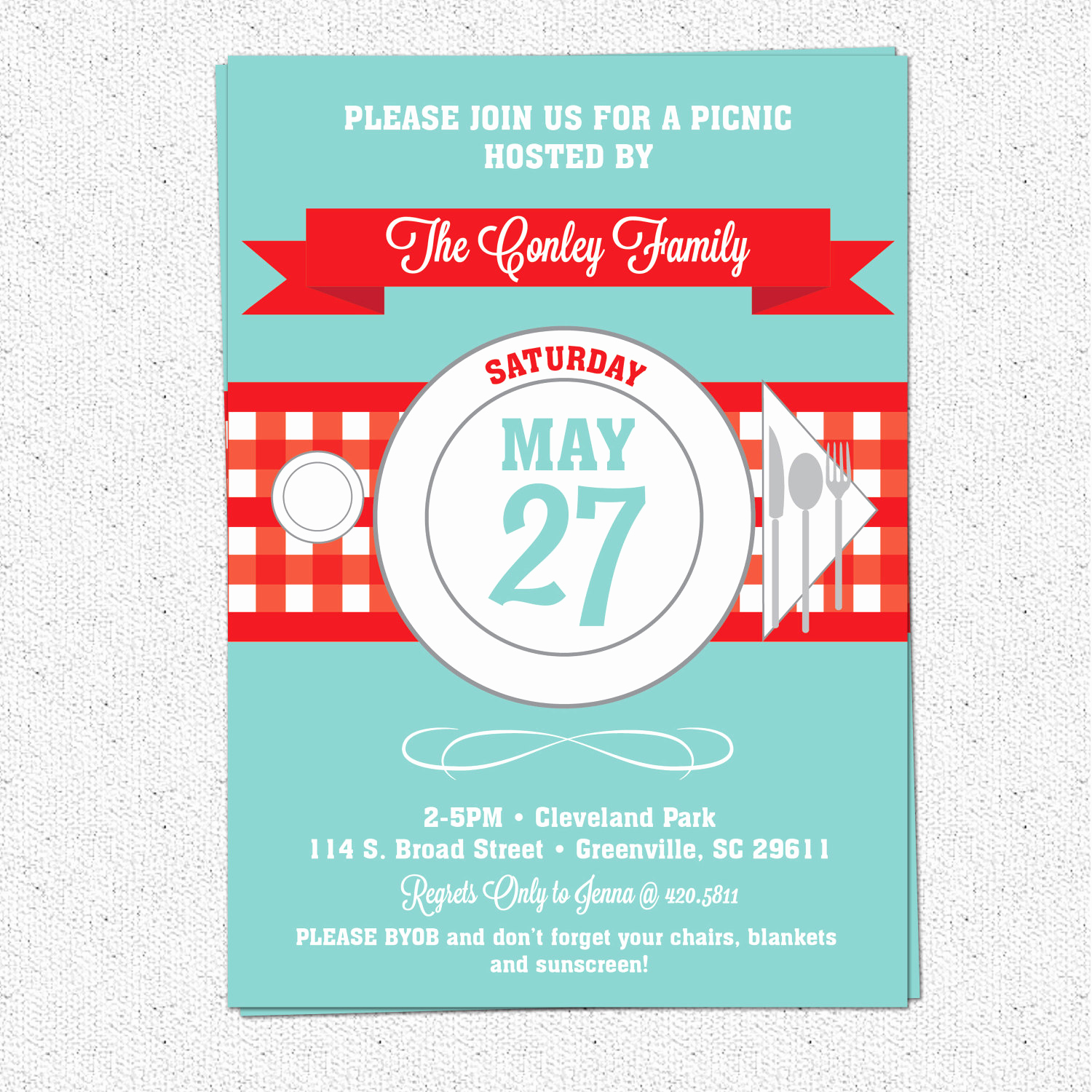 Picnic Invitation Templates Free Luxury Picnic Invitation Summer Bbq Barbecue July 4th Checkered