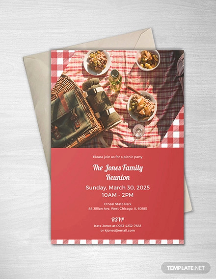 Picnic Invitation Templates Free Unique 24 Picnic Invitation Template Psd Eps Ai