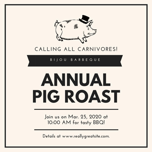 Pig Roast Invitation Template Free Best Of Customize 107 Bbq Invitation Templates Online Page 3