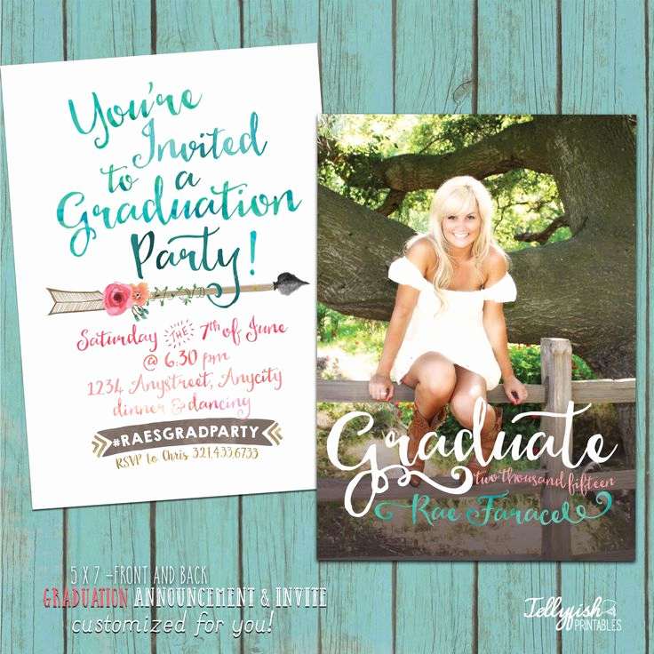 Pinterest Graduation Invitation Ideas Unique Best 25 Graduation Invitations Ideas On Pinterest
