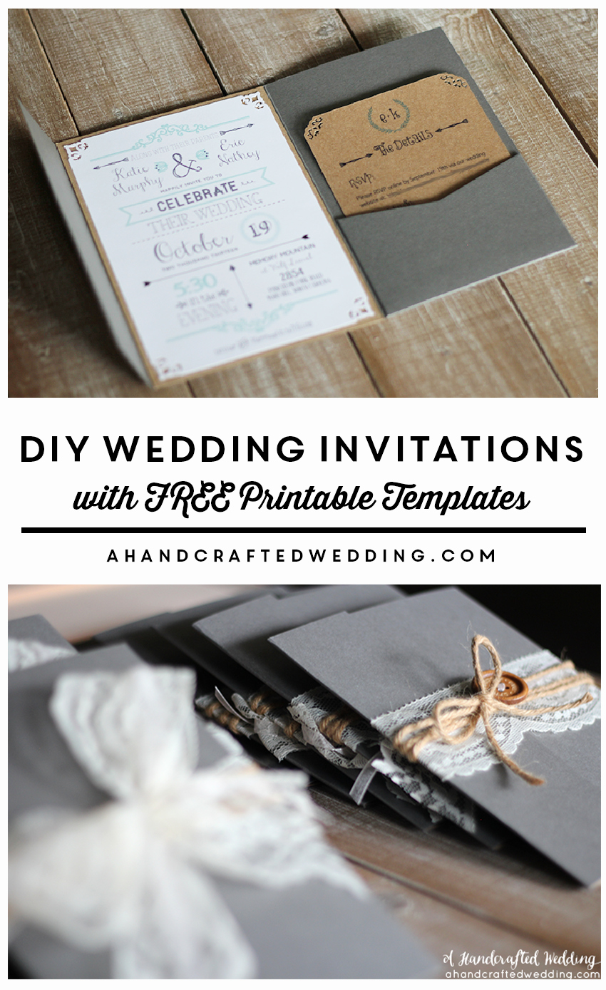 Pinterest Wedding Invitation Ideas Awesome Best 25 Diy Invitations Ideas On Pinterest