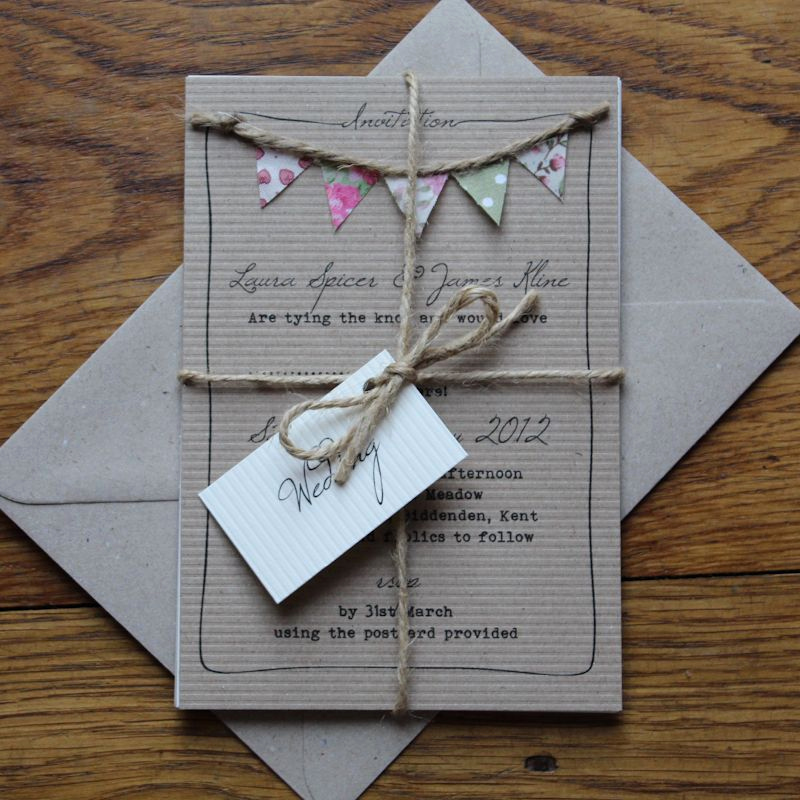 Pinterest Wedding Invitation Ideas Beautiful Best 25 Bunting Invitation Ideas On Pinterest