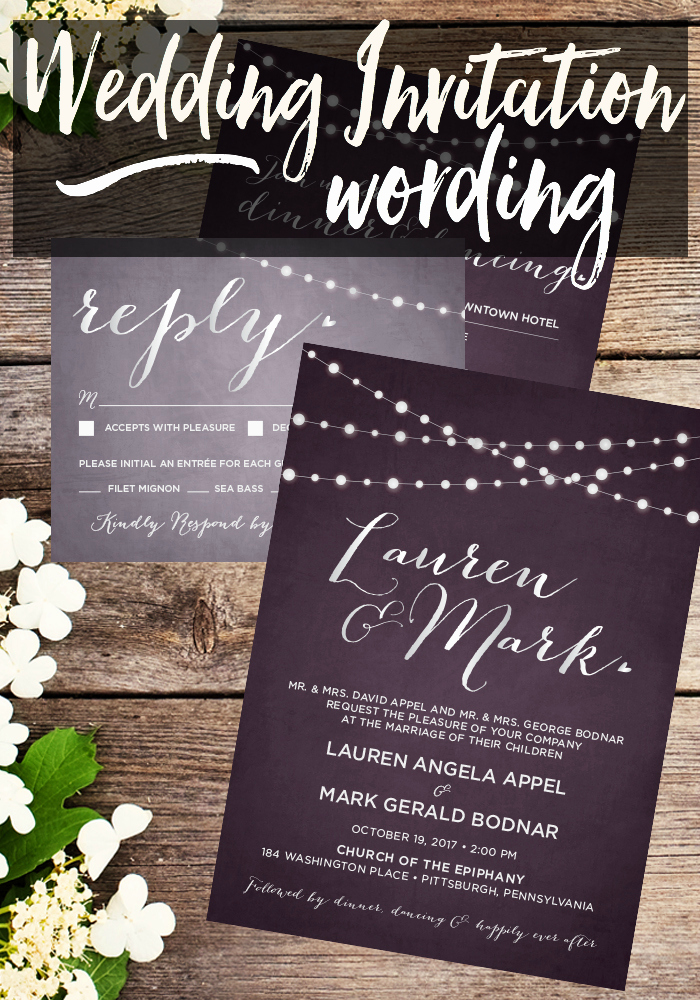 Pinterest Wedding Invitation Wording Awesome Wedding Invitation Wording • Taylor Bradford