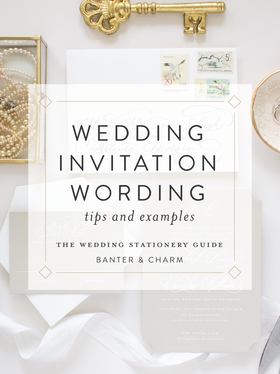 Pinterest Wedding Invitation Wording Awesome Wedding Stationery Guide Wedding Invitation Wording
