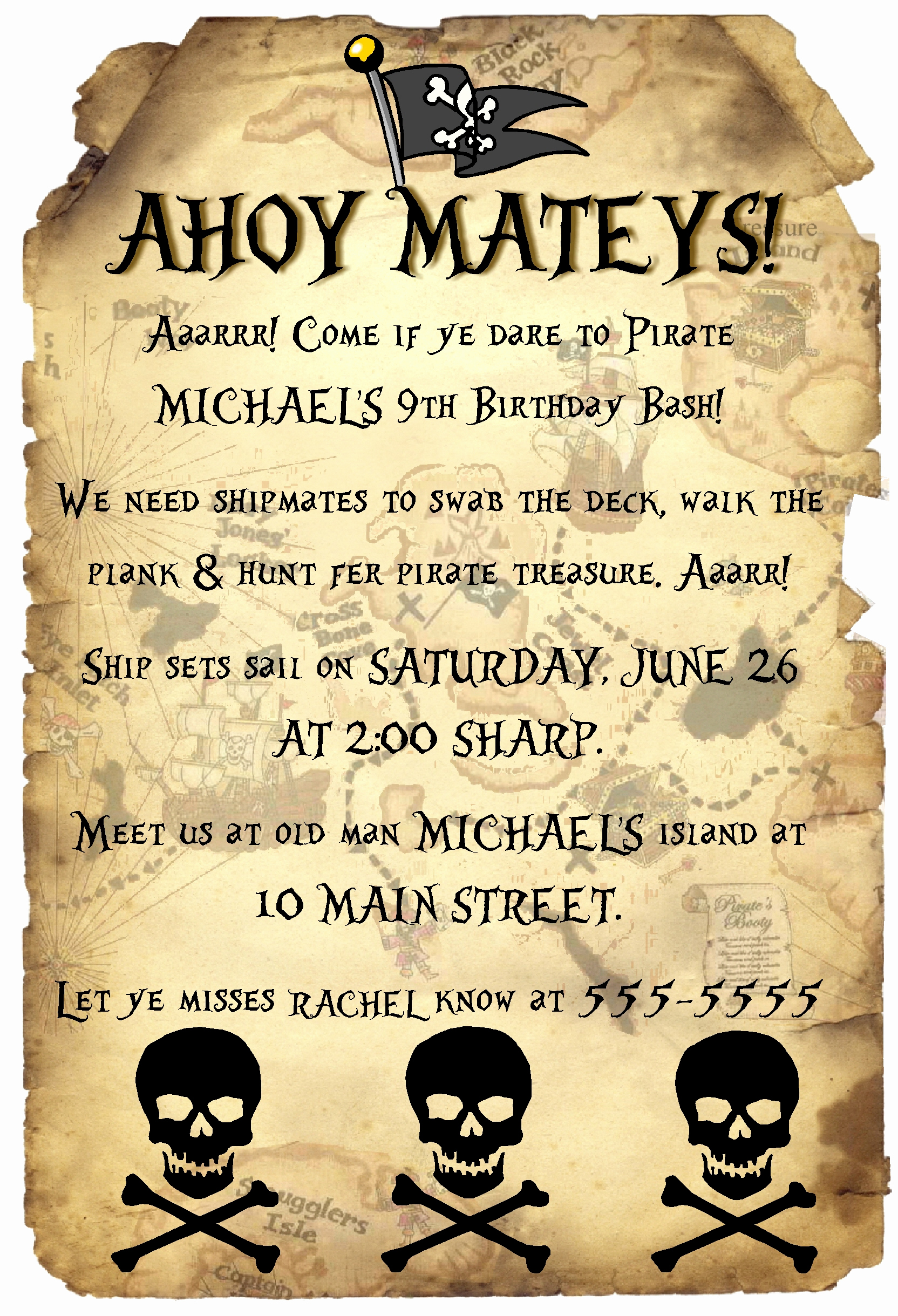 Pirate Party Invitation Templates Luxury Adult Pirate Party Invitations