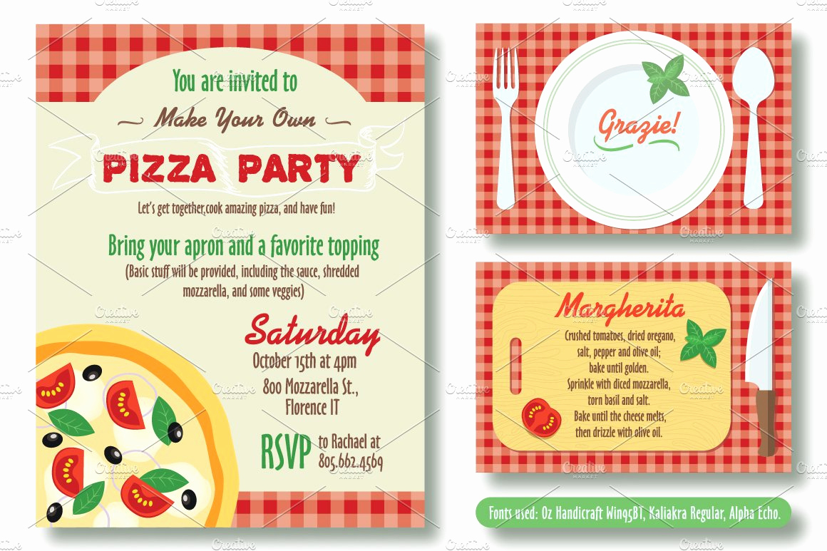 Pizza Party Invitation Template Luxury Editable Pizza Party Invitation Invitation Templates