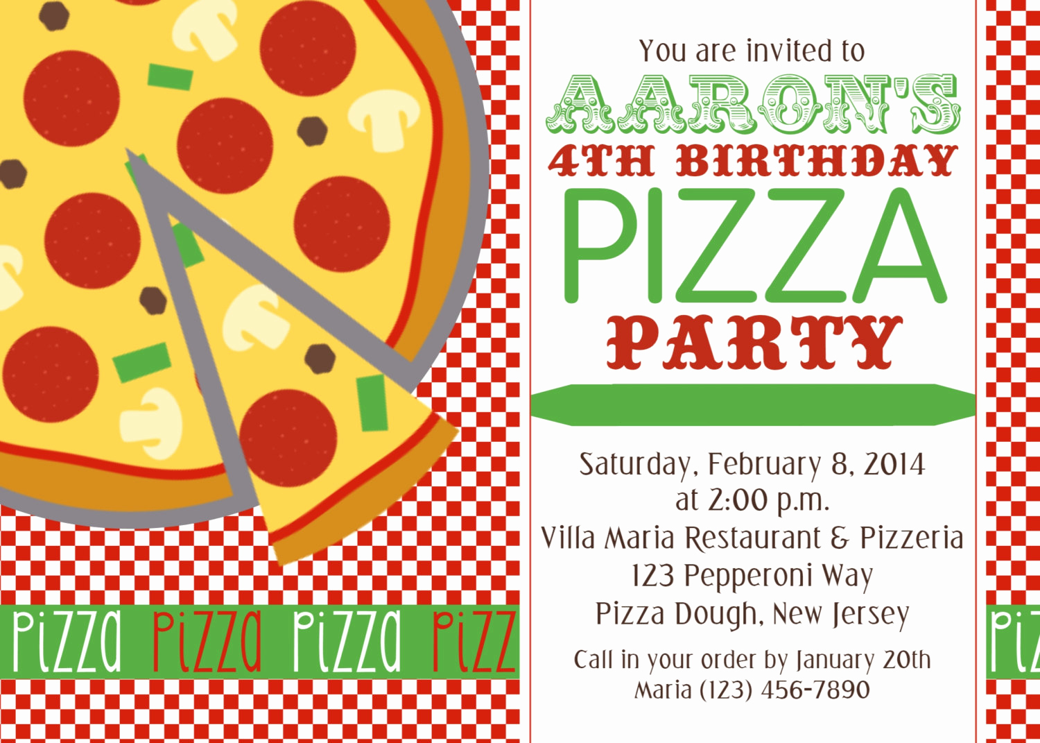 Pizza Party Invitation Templates Beautiful Chandeliers & Pendant Lights