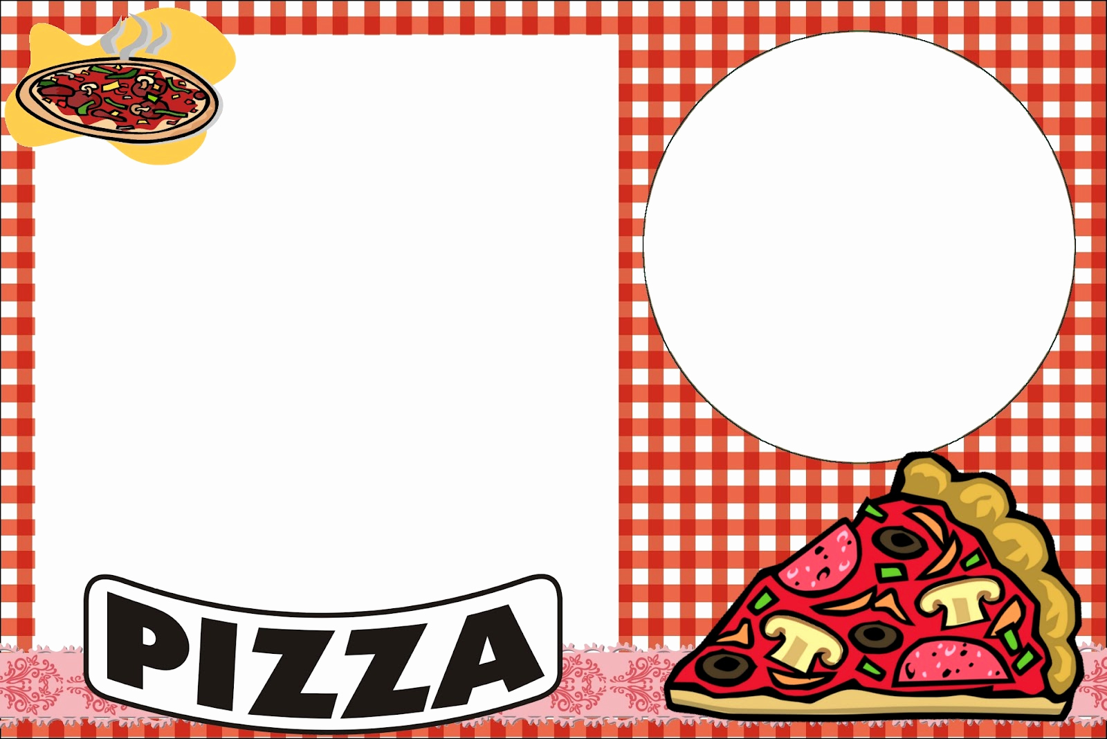 Pizza Party Invitation Templates Best Of Pizza Party Free Printable Invitations Oh My Fiesta