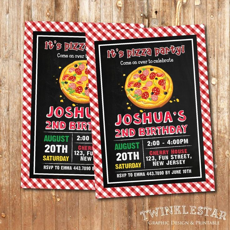 Pizza Party Invitation Wording Inspirational 1000 Images About Pizza Party Invites On Pinterest