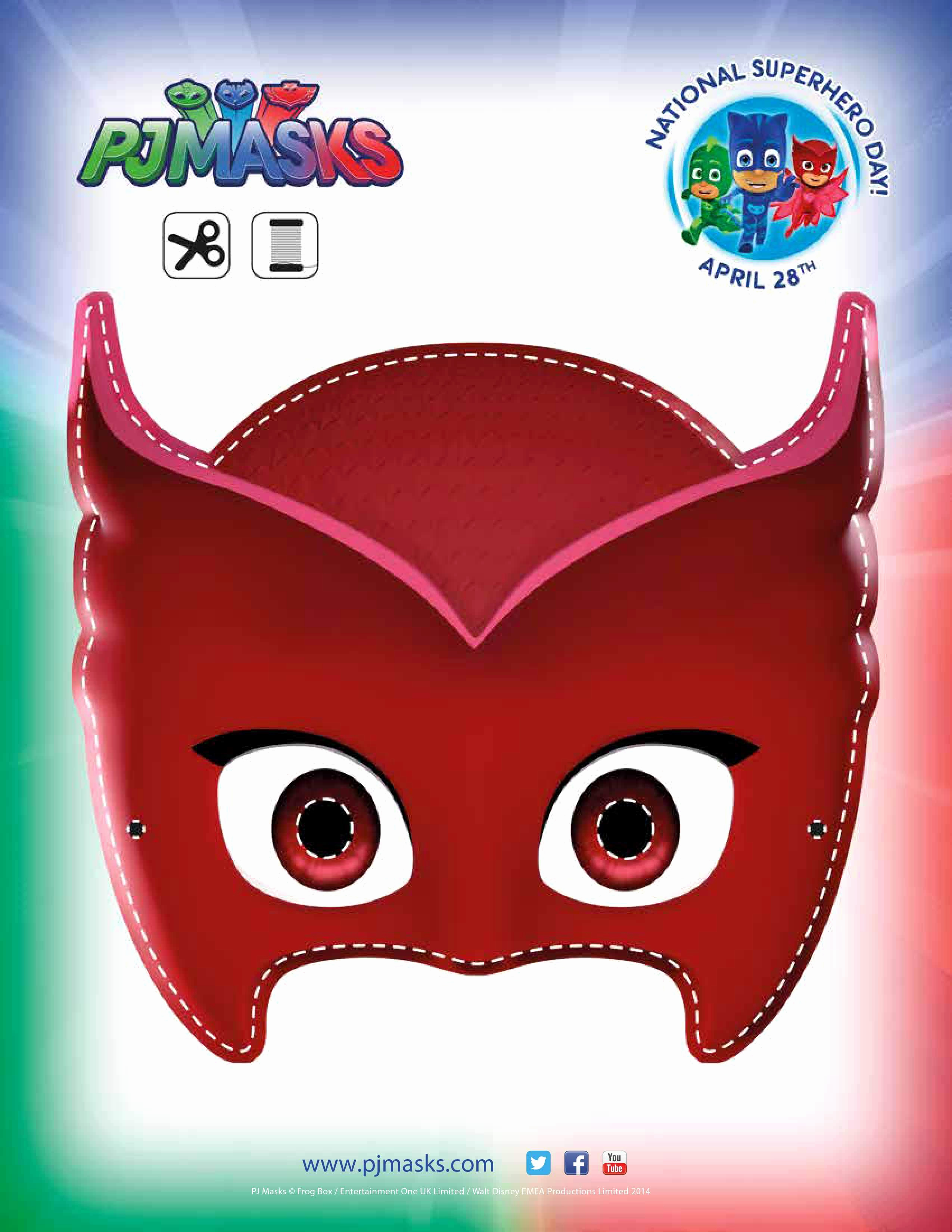 Pj Masks Invitation Template Free New Pj Masks Party Printables for Free
