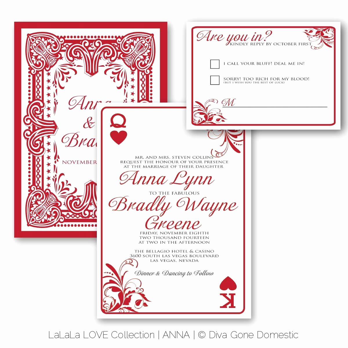 Playing Card Invitation Template Free Fresh Playing Cards Invitations Elegant Card Invitation Template