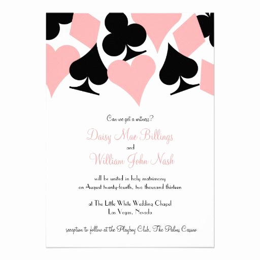 Playing Card Invitation Template Free New 17 Best Images About Vegas Wedding