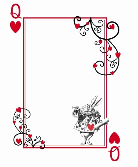 Playing Card Invitation Template Fresh 12 Cool Mad Hatter Tea Party Invitations