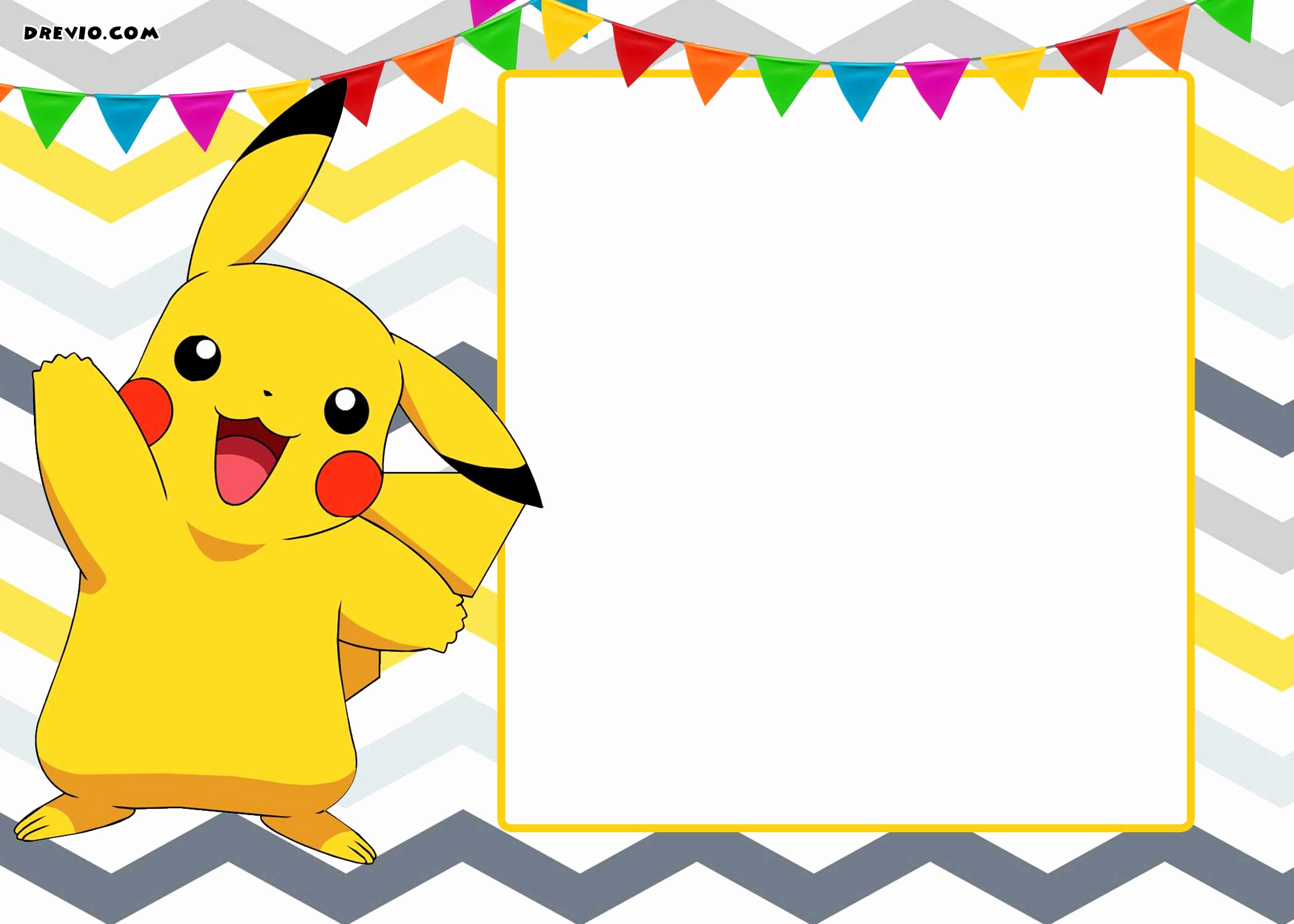 Pokemon Birthday Invitation Templates Beautiful Free Printable Pokemon Invitation Templates Free