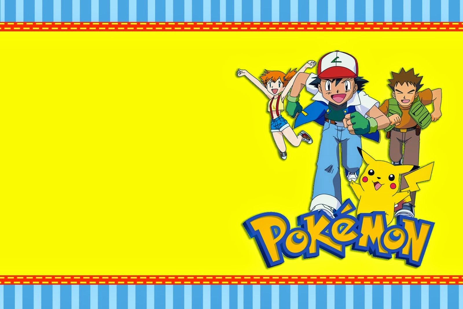 Pokemon Birthday Invitation Templates Beautiful Pokemon Birthday Invitations Canada