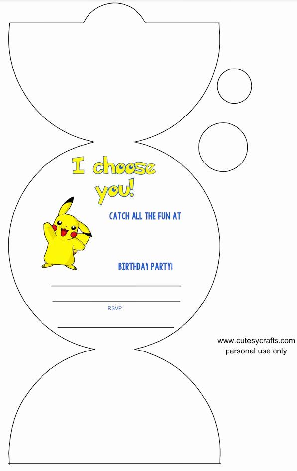 Pokemon Birthday Invitation Templates Free Inspirational Best 25 E Birthday Cards Free Ideas On Pinterest