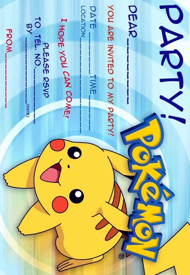 Pokemon Birthday Invitation Templates Free Luxury Pokemon Coloring Pages Pokemon Free Party Invitations