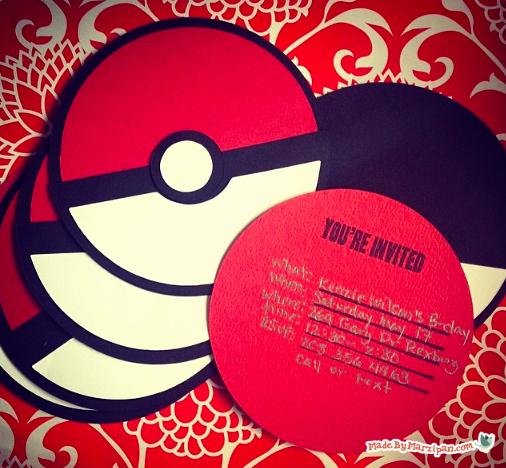 Pokemon Birthday Invitation Templates Free New Pokemon Party Invites Made by Marzipan