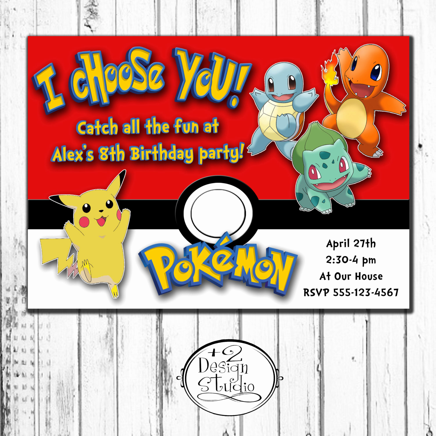 Pokemon Birthday Invitation Templates Fresh I Choose You Pokemon Birthday Invitation by Kccreativedesign