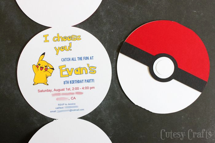Pokemon Birthday Invitation Templates Fresh Pokemon Birthday Party Invitations with Free Silhouette