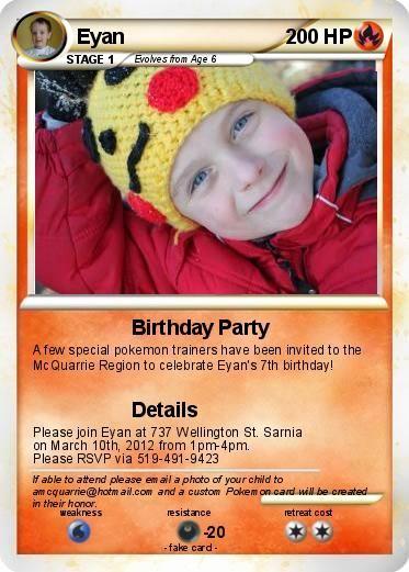 Pokemon Card Birthday Invitation Fresh 25 Best Ideas About Pokemon Birthday Card On Pinterest