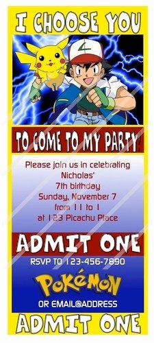 Pokemon Card Birthday Invitation Lovely 25 Best Ideas About Pokemon Birthday Card On Pinterest