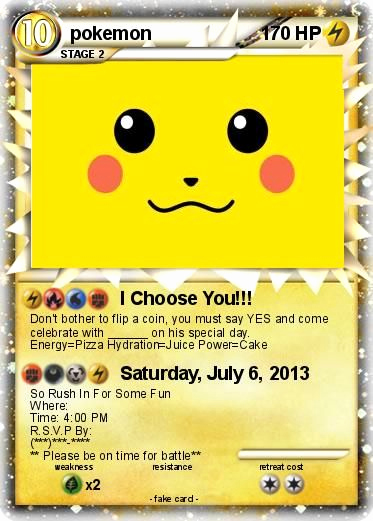 Pokemon Invitation Template Free Best Of 25 Best Ideas About Pokemon Birthday Card On Pinterest