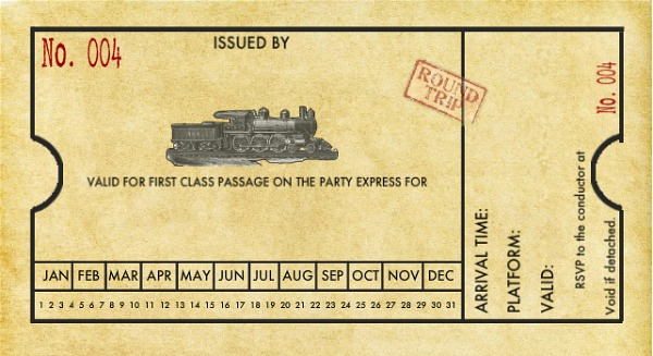 Polar Express Invitation Template Best Of Train Party Printables Free Moms & Munchkins