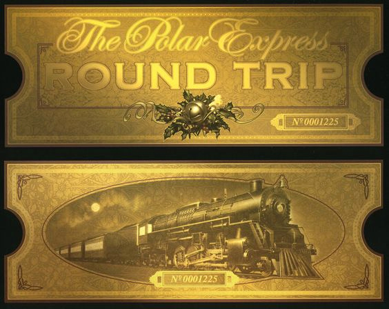 Polar Express Invitation Template Luxury Polar Express Printable Ticket I Plan On Printing these