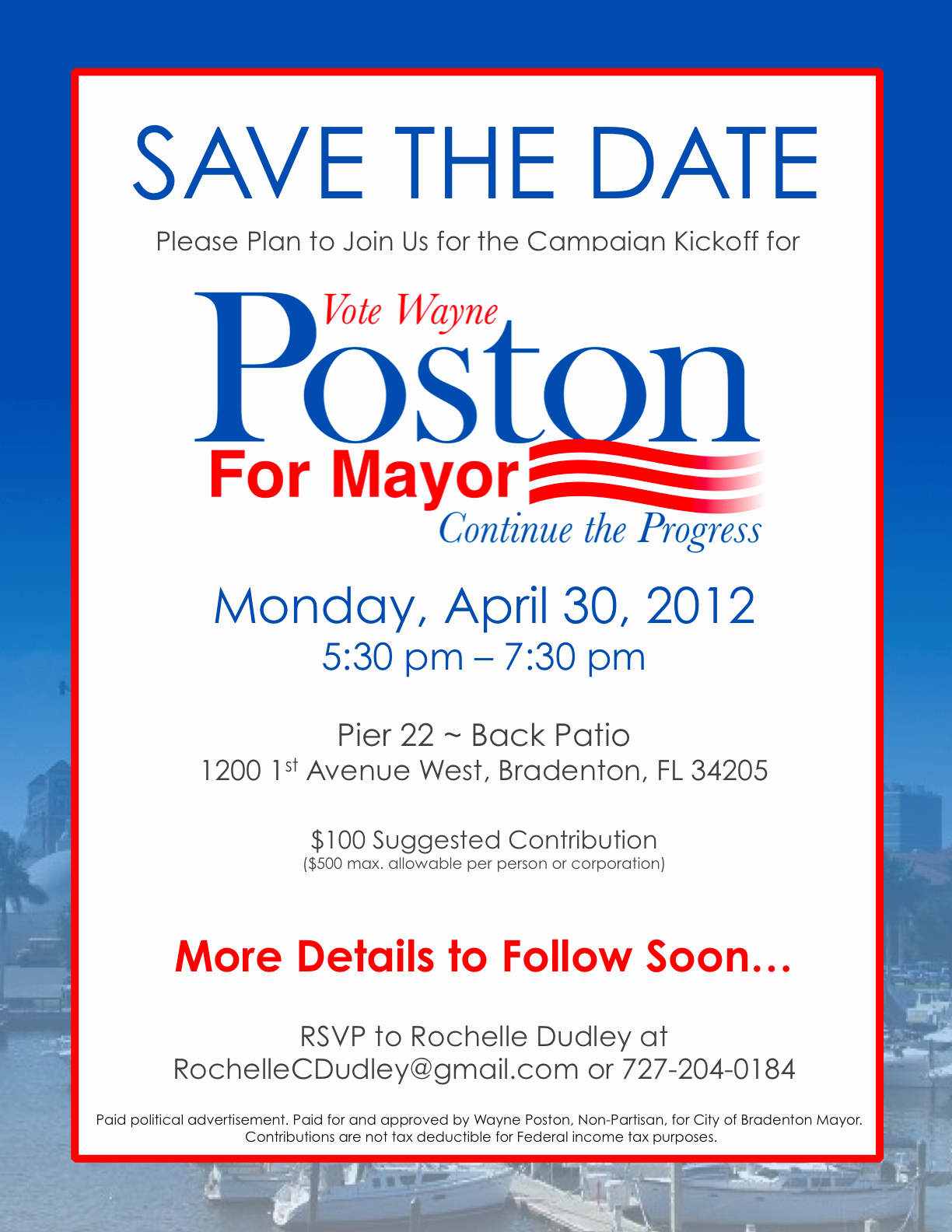 Political Fundraiser Invitation Wording Awesome Campaign Fundraiser