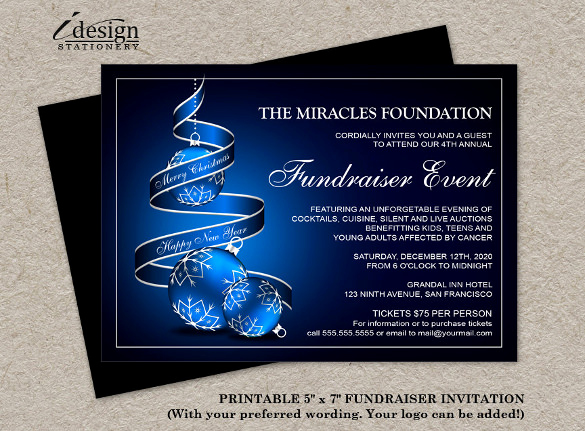 Political Fundraiser Invitation Wording Elegant 15 Fundraising Invitation Templates Word Psd Ai Eps