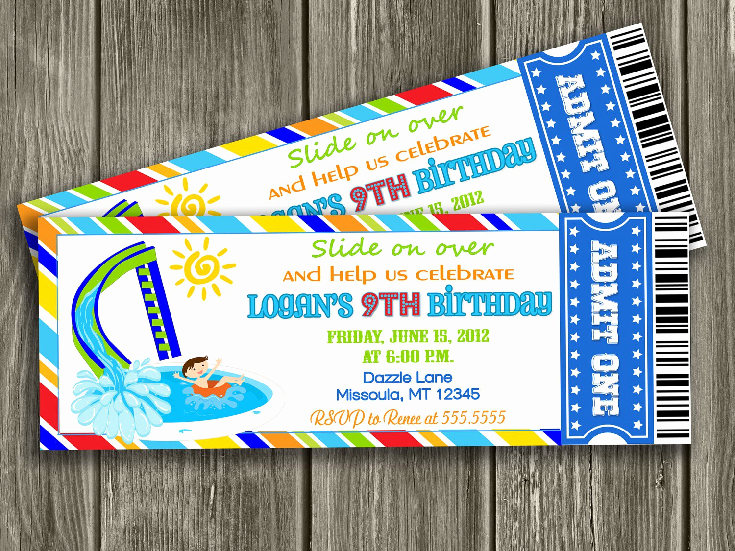 Pool Party Invitation Ideas New Pool Birthday Invitations