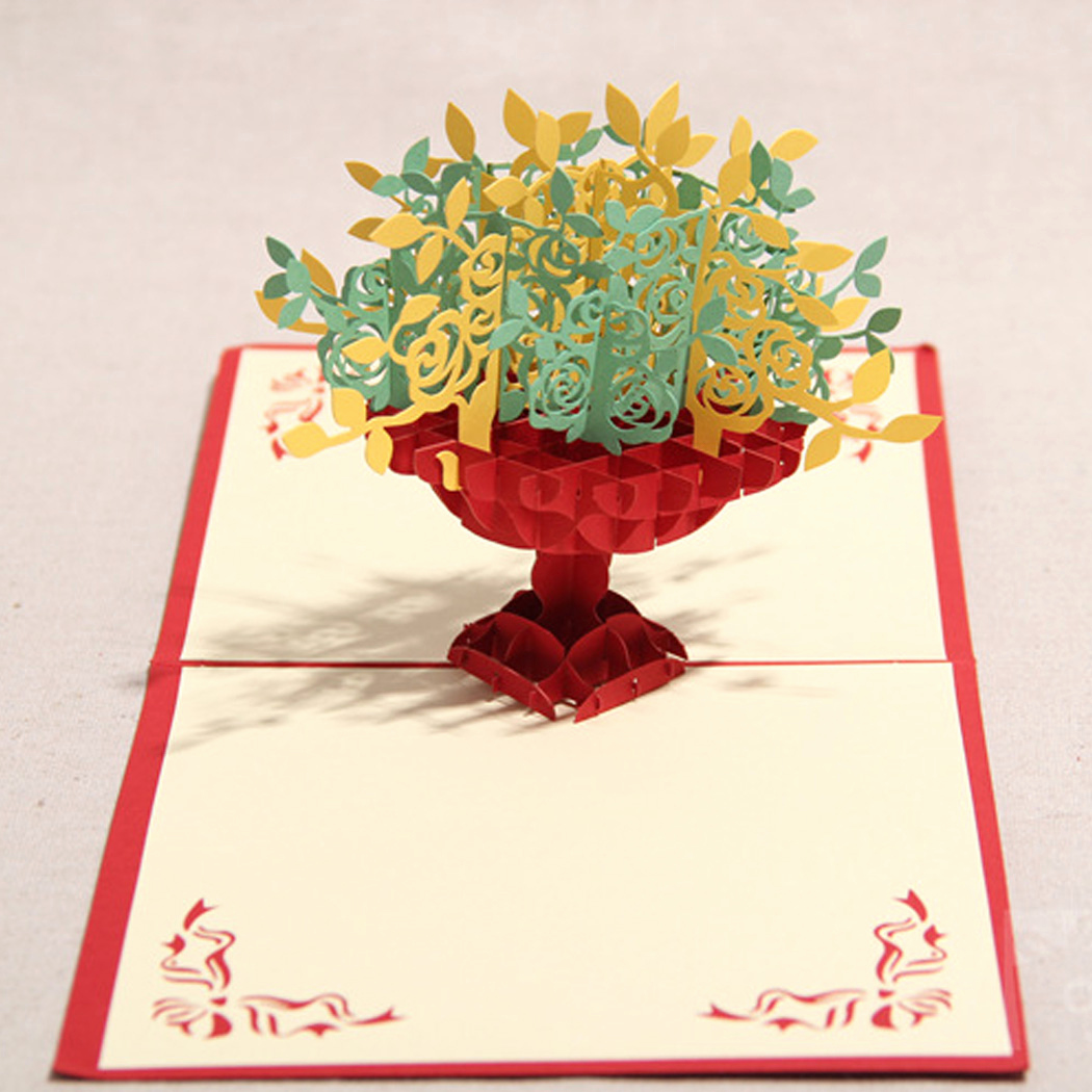 Pop Up Invitation Card Best Of 3d Pop Up Birthday Wedding Invitation Greeting Cards