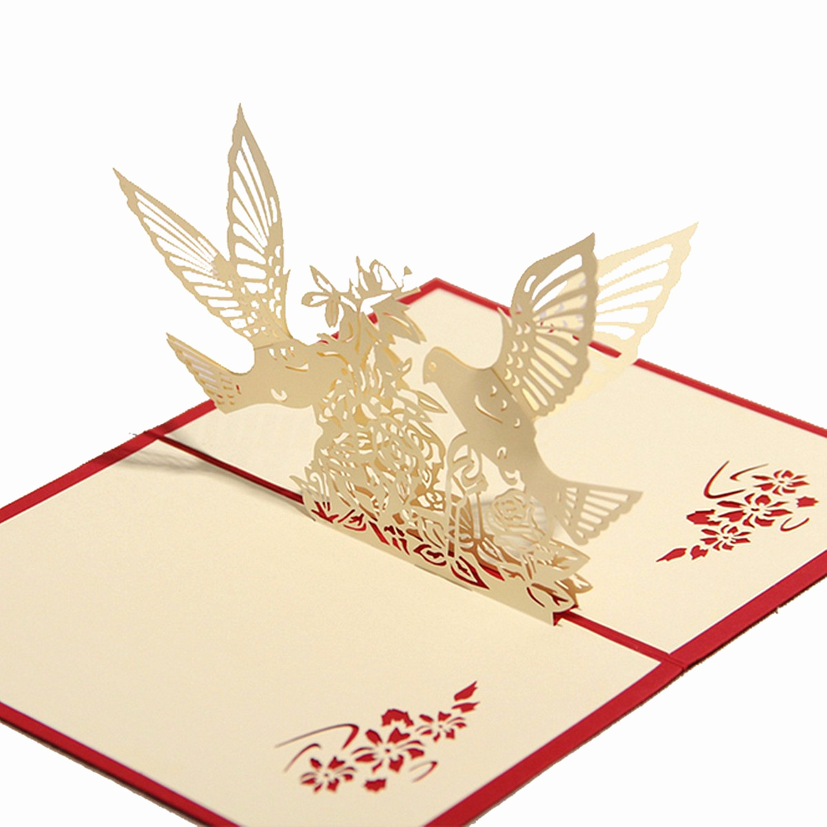 Pop Up Invitation Card Fresh Pop Up Wedding Invitation 3d Greeting Card Flower Happy