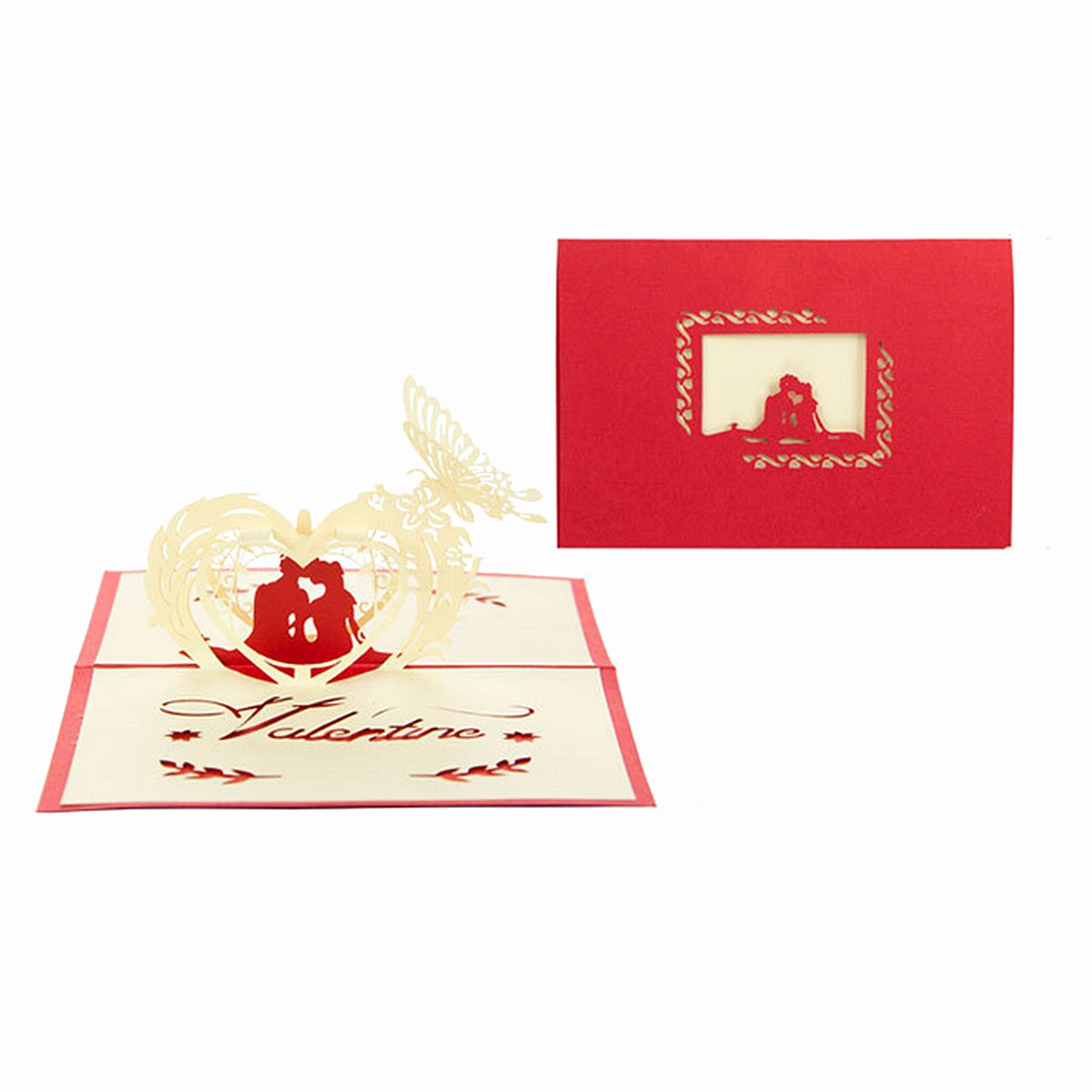 Pop Up Invitation Card Luxury 3d Pop Up Wedding Invitation Greeting Card Flower Happy