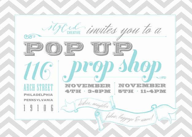 Pop Up Shop Invitation Best Of Loveleigh Invitations Llc Pop Up Prop Shop