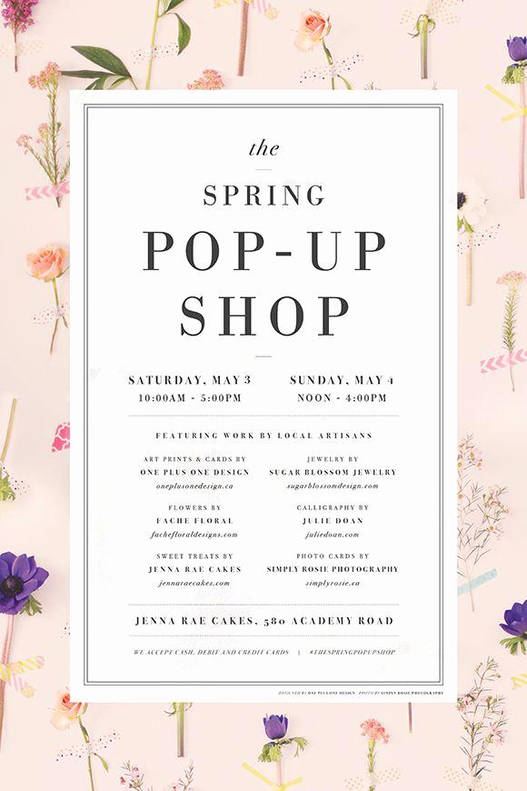 Pop Up Shop Invitation Inspirational Best 25 Pop Up Shops Ideas On Pinterest