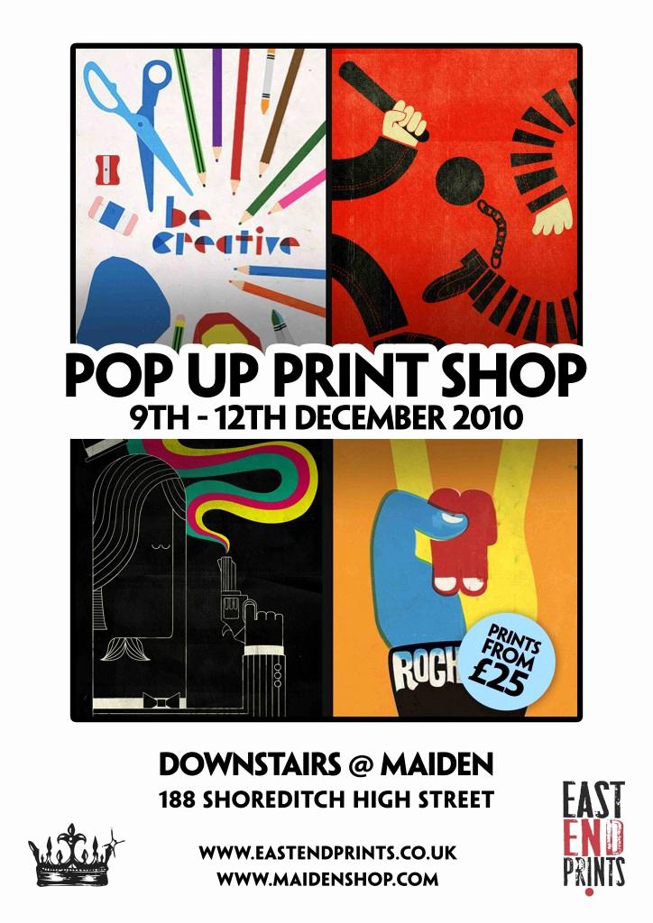 Pop Up Shop Invitation Inspirational East End Prints Launch and Pop Up Print Shop Invitations