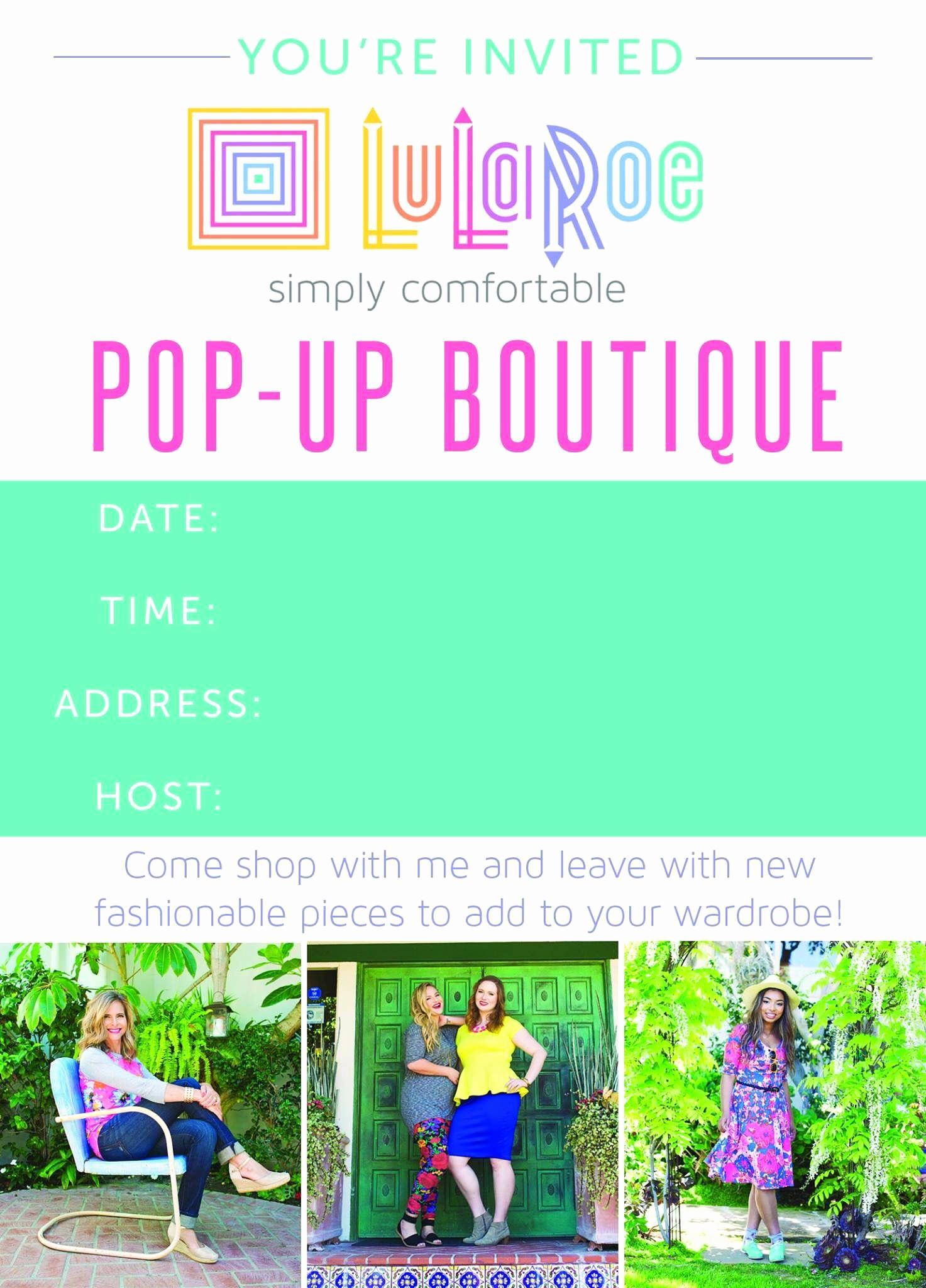 Pop Up Shop Invitation Inspirational Pop Up Plunder Biz Ideas