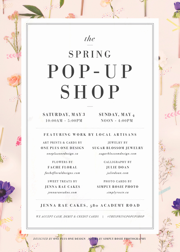 Pop Up Shop Invitation Inspirational the Spring Pop Up Shop – Simply Rosie